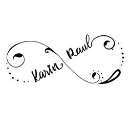 "Wedding logo ""K-R"", 2020"