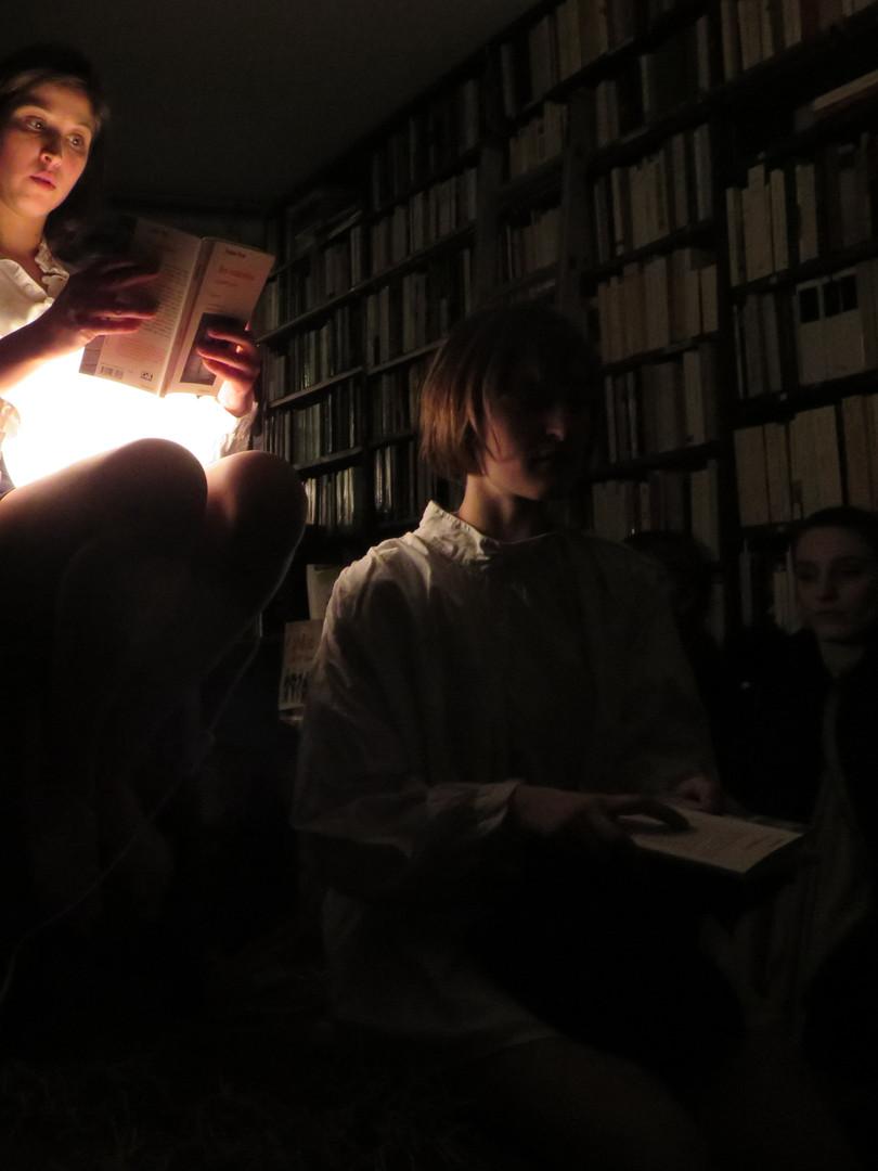 Autour de Des Camisoles et autres textes à la librairie Le Livre en Pente