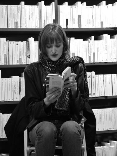 IAN à la Librairie Passages