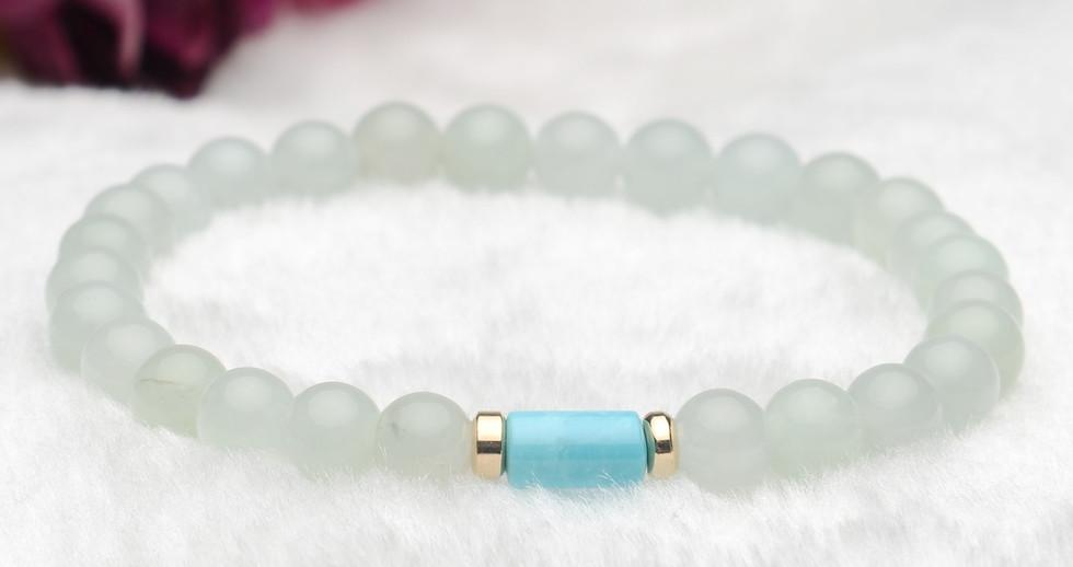 Jadeite Buddha Prayer Beads