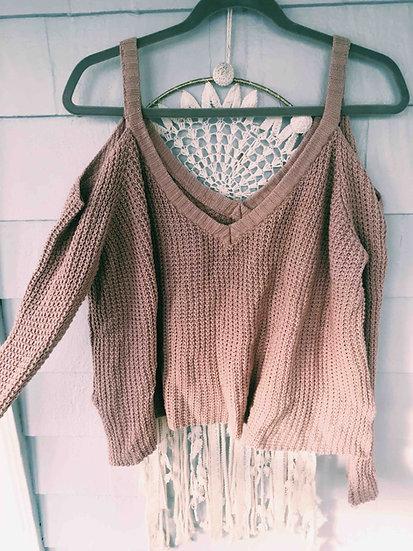 L.A. Hearts Cold Shoulder Sweater