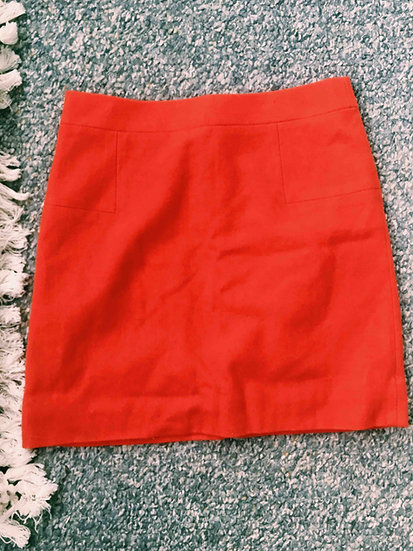 JCrew Wool Blend Mini Skirt