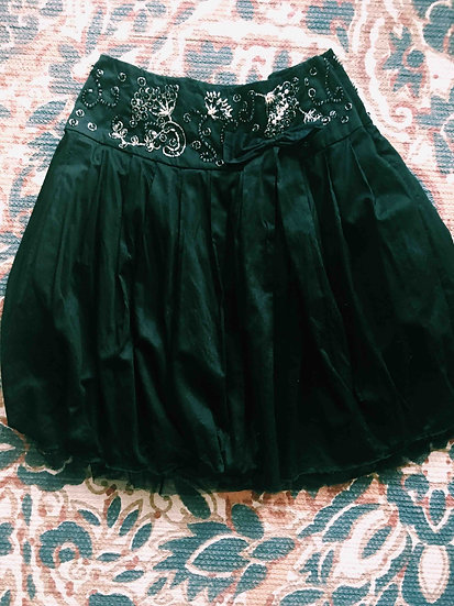 Free People Cotton Tulle Skirt