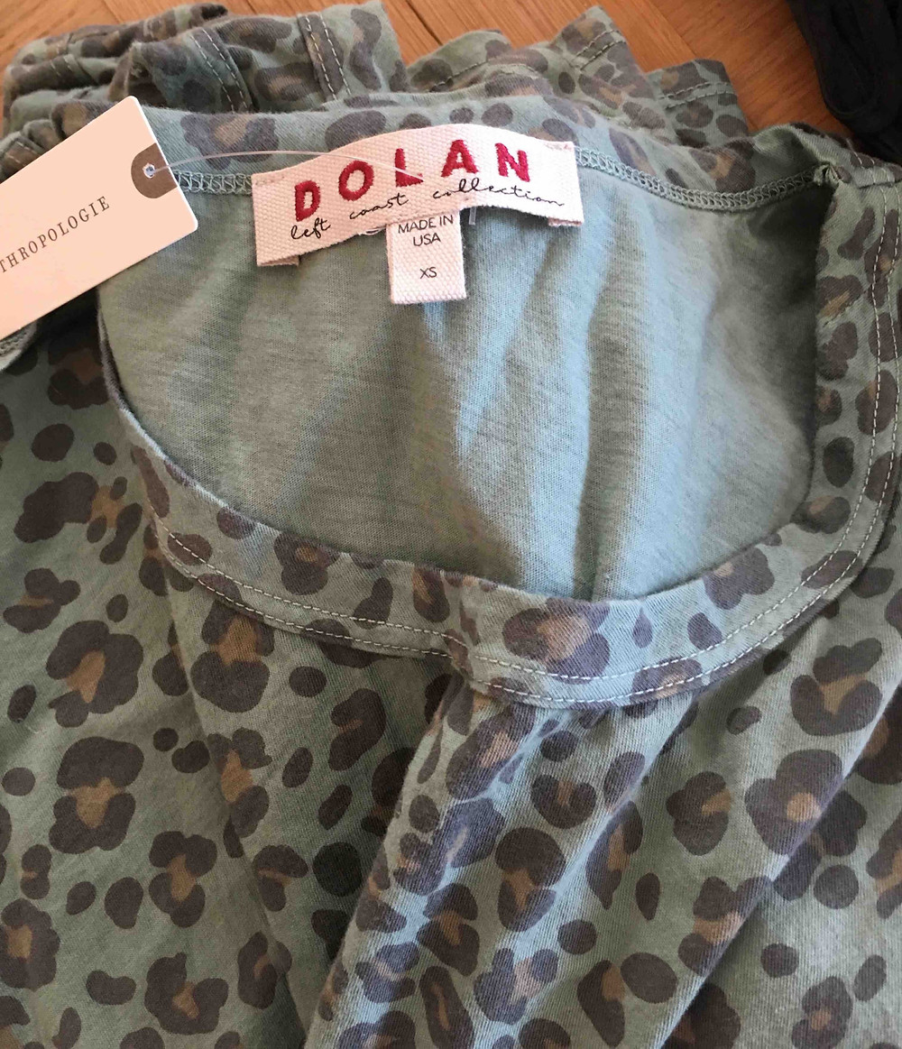 anthropologie Dolan left coast made in usa