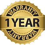 Our security systems come with a one year unlimited warranty,