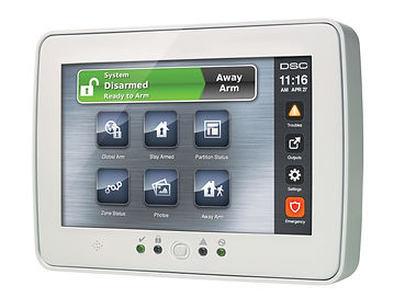 DSC Touch Screen Security System Tech Support