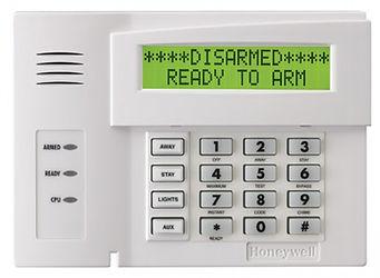 Honeywell Alarm System Keypad