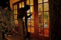 Get a Security System to prevent this thieve from stealing your presents!