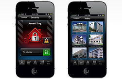 Control you alarm system from your smart phone.
