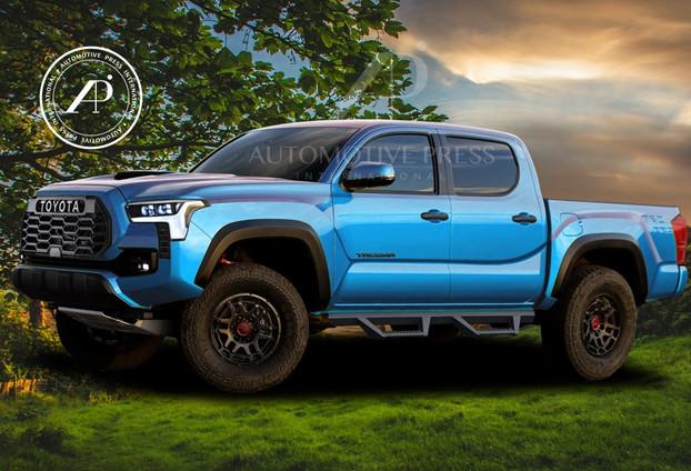 2024 Tacoma (Blue)
