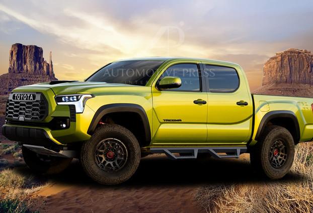 2024 Tacoma (Yellow)