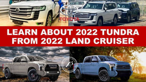 WHAT CAN WE LEARN ABOUT 2022 TOYOTA TUNDRA FROM 2022 TOYOTA LAND CRUISER 300? Turns out a lot!