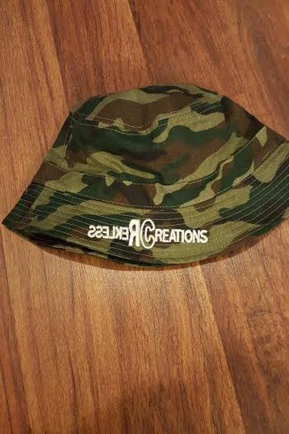 Rekless Creations Camo Bucket Hat