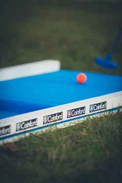 Branded mini golf