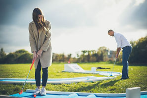 Crazy golf parties