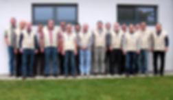 Gruppenfoto der Oberrheinischen Vogelfreunde Tiengen
