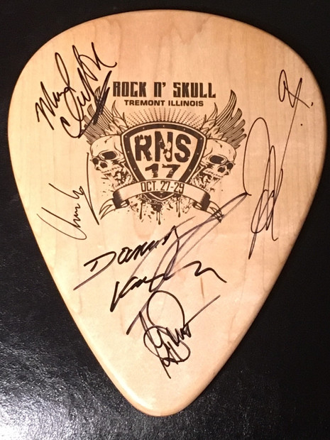 RNS Pick Signed by Tyketto $30