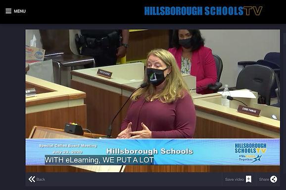 School Board Debate Re-Opening During Pandemic