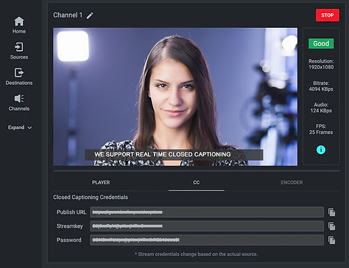 Real-Time Closed Captioning