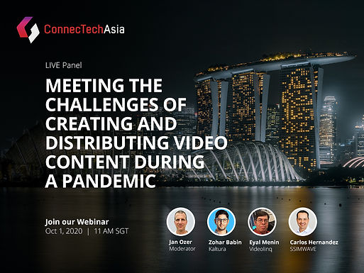 Meeting the Challenges of Creating and Distributing Video Content during a Pandemic