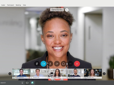 Stream WebEx Meetings to Social Media