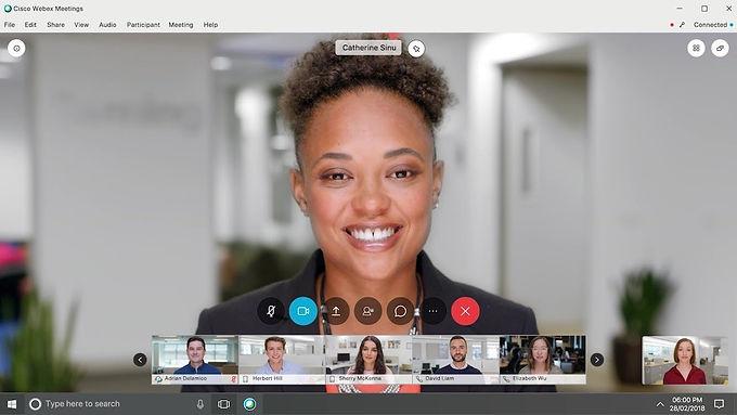 Stream WebEx Meetings to Social Media