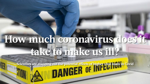 How Much Coronavirus Does It Take To Make Us Ill?