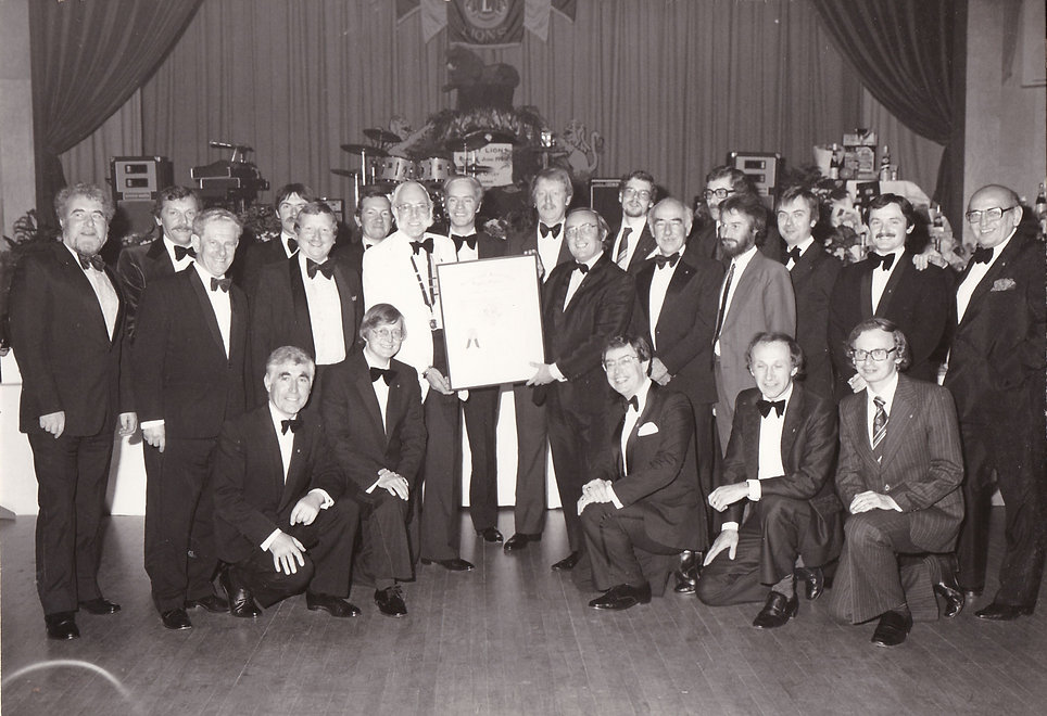 Charter Presentation 17th October 1980.j