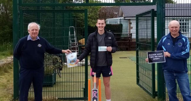 Burley Cricket Club cheque hand over.jpg