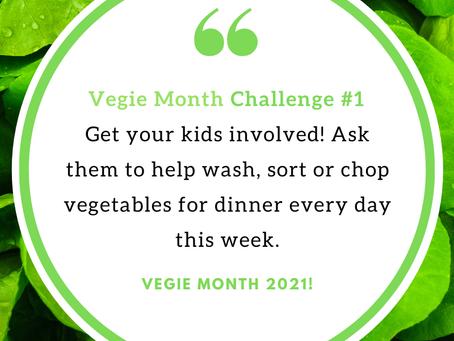 Vegie Month, From Garden to Plate