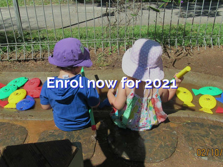 Enrol now for 2021