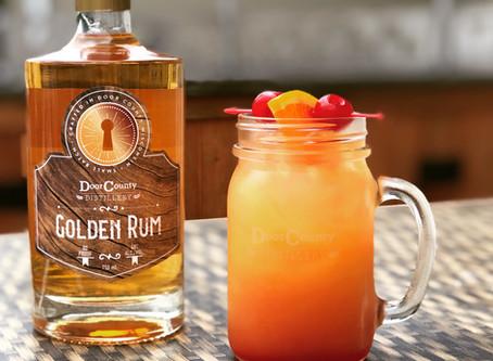 Sunrise Rum Punch