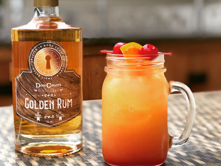Sunrise Rum Punch