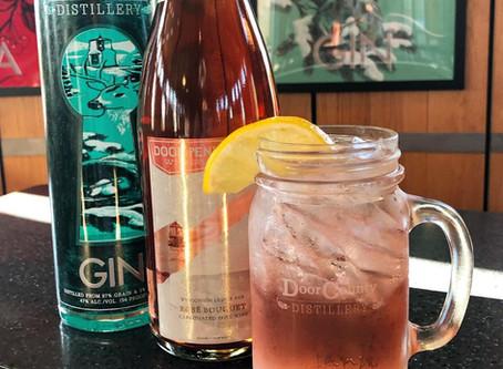 Rosy Gin Fizz
