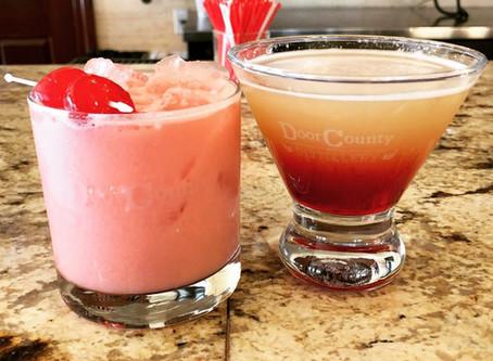 Pink Unicorn & Lake Breeze Martini