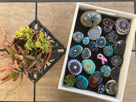 Popular Ways to Display Your Painted Rocks