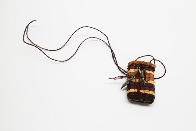 Cedar Bark Necklace Basket