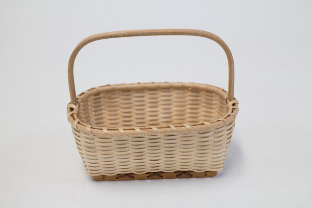 Miniature Shake Wood Chip Basket