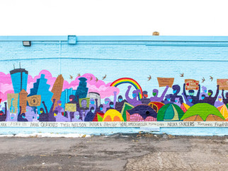 A site for healing, anti-racism, and community representation: Community Mural at Avivo: