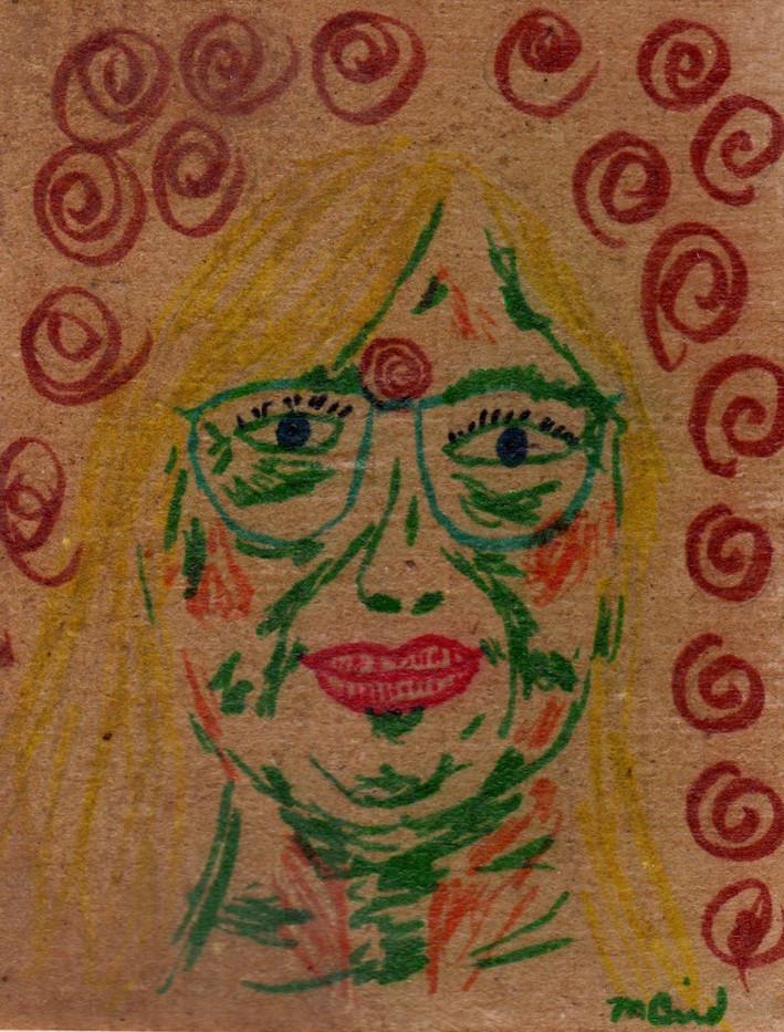 Third Eye Self Portrait