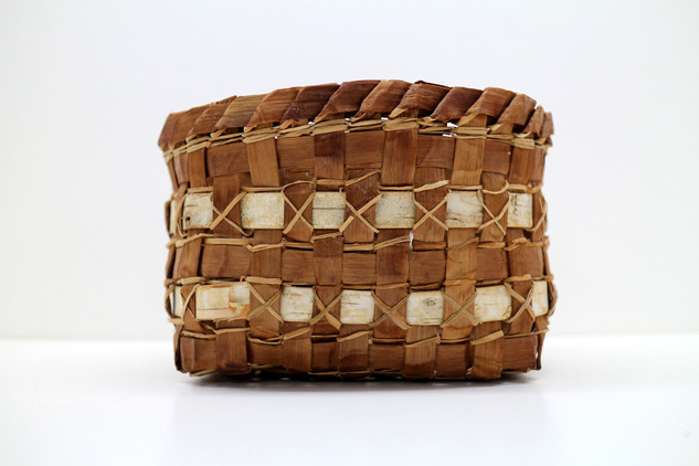 Cedar Bark Trinket Basket