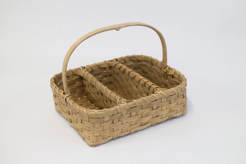Divided Flatware Basket
