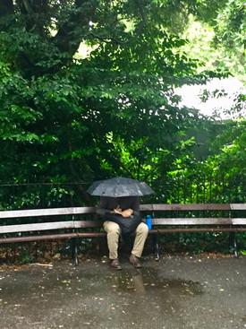 Reading in the Rain
