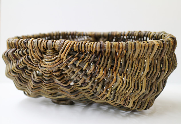 Oblong Willow Basket