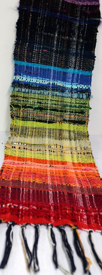 Rainbow Saori Weaving
