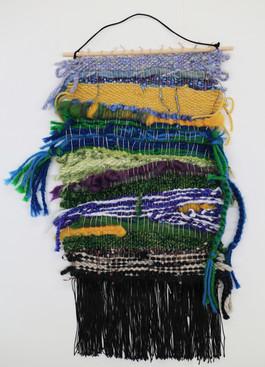 Retro Expressionist Weaving