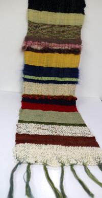Earthy Saori Weaving
