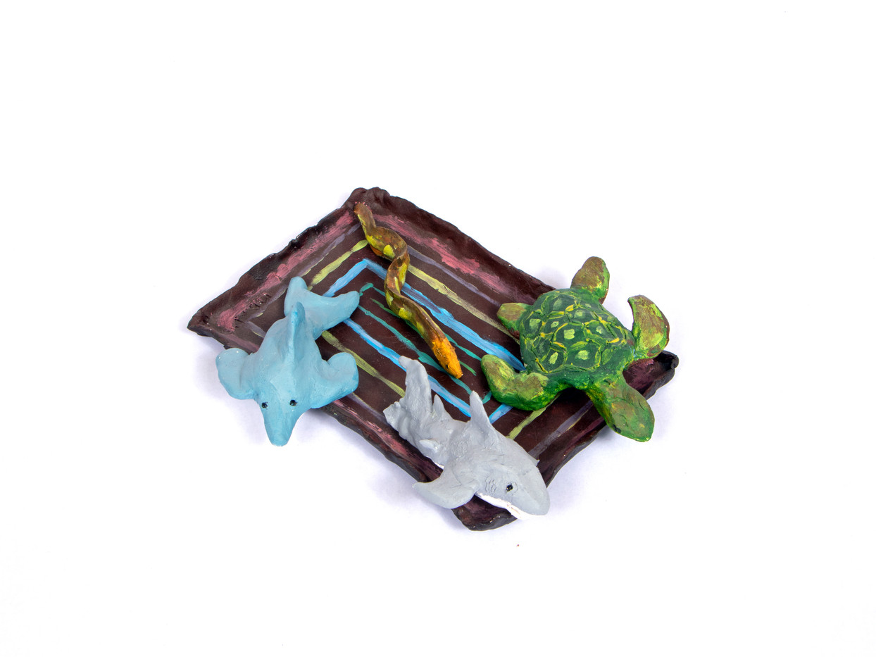 Sea Creatures on Spoon Rest