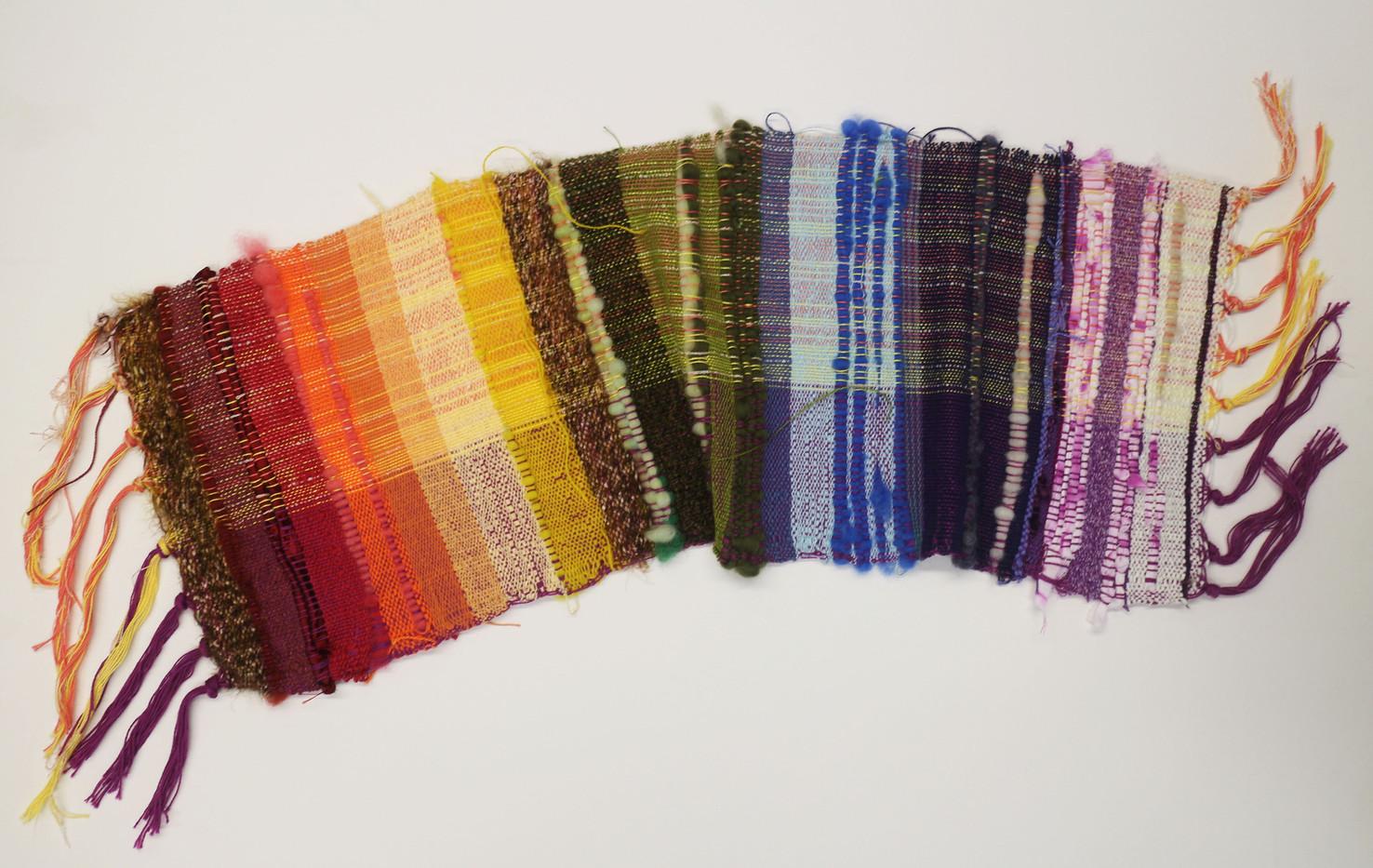 Chakra Saori Weaving