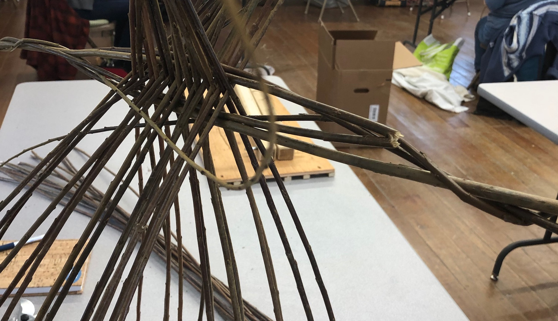 Create a system to keep the spokes from tangling